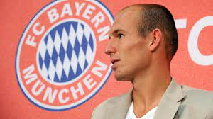 Arjen Robben zögerte vor Wechsel zum FC Bayern München
