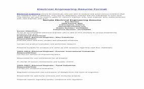 Electrical Engineering Resume Sample Pdf   Casadozander