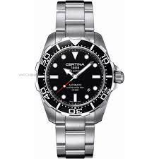 men s certina ds action diver automatic watch c0134071105100 mens certina ds action diver automatic watch c0134071105100