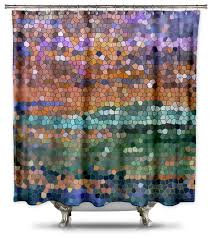 catherine holcombe egyptian royalty fabric shower curtain standard size