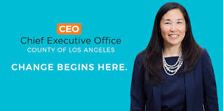 Los Angeles County Organizational Chart Chief Executive Office County Of Los Angeles