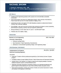 Civil Engineering Resume Templates - Resume Sample