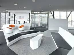 office interiors magazine. White Office Interior Design Polygonal Constructions Abound In The Seen Here Functioning As Framing . Interiors Magazine P