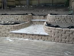 Retaining Wall Seating Retaining Walls Build Only What You Need Lawn Care Guide