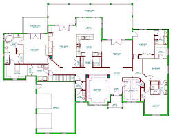 image of 5 bedroom house plans with porch