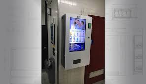 Wall Mounted Vending Machine Enchanting Wall Mounted Vending Machines Custom Wall Vending Machine Design
