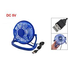compare prices on blue desk fan online shopping buy low price yoc 5 dia blue hard plastic 4 blade usb cooler cooling desk mini fan