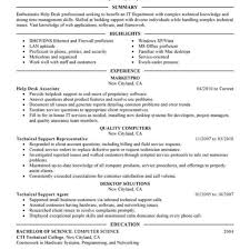 entry level resumes no experience resume template cool help desk objective sample in it madrat of