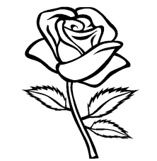 Small Picture Rose Coloring Page fablesfromthefriendscom