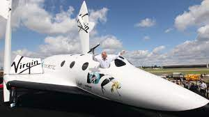 Richard Branson's bid to jet into space ...