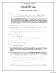 Loan Repayment Contract Free Template Personal Agreement South Cool Loan Repayment Contract Free Template