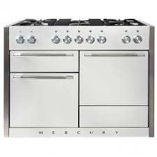 mercury 1200 dual fuel gas hob range cooker