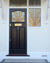 art deco style front door
