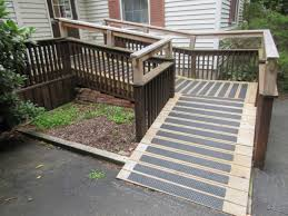 Handicap Ramps Wood Designs Handi Ramp Aluminum Non Slip Stair Treads Nosings