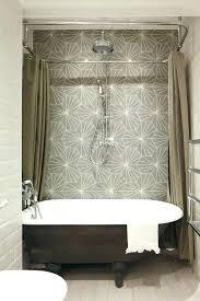 small shower curtain rods small shower curtain rod marvelous l shaped shower curtain rod in bathroom
