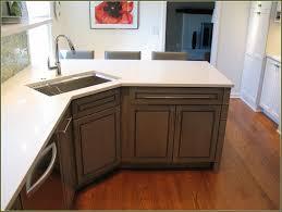 Kitchen Sink Furniture Kitchen Awesome Corner Kitchen Sink Cabinet Ideas With Brown