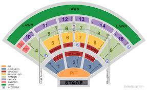 Pnc Pavilion Charlotte Seating Chart With Seat Numbers Www