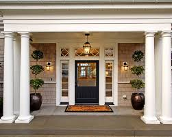 black front door with sidelightsEntry Door Sidelight Ideas  Houzz