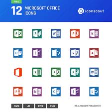 Microsoft Office Icons Under Fontanacountryinn Com