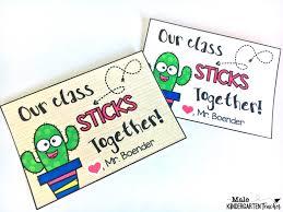 Back To School Cactus Craft For Kids Male Kindergarten Teacher