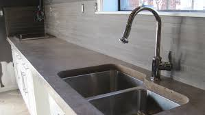 Polishing Concrete Countertops Exposed Aggregate Concrete With Concrete Countertops Cost Vs Granite