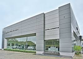 jaguar land rover showroom. jaguar land rover showroom | yangon myannmar