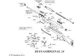 24 Diana Original Airgun Spares Chambers Gunmakers