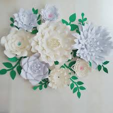 Paper Flower Archway 2019 Giant Paper Flowers Leaves For Wedding Backdrop Wedding Photography Bridal Shower Photo Shoots Archway Decoration From Fivestarshop 99 5