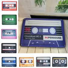 yazi Nostalgia Tape Cassette Mats Anti slip Carpet Floor Mat ...