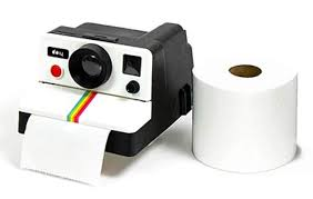 Polaroid Camera Design Tissue Box Esmart Classic 80s Retro Camera Shaped Toilet Paper Tissue Roll Holder Box Covers