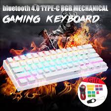 Bộ bàn phím chơi game Obins Anne Pro 2 60% NKRO Bluetooth 4.0 loại-C RGB  kèm phụ kiện chất lượng cao tiện dụng giá rẻ 1.392.000₫