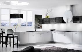 All White Kitchen Designs Decoration Unique Design