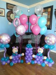Baby Bottle Balloon Decoration Baby Balloon Centerpieces with Baby Bottle and Much More By Just 28