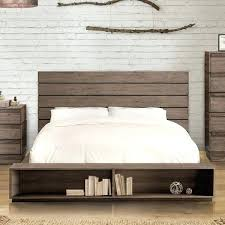 Low Profile Bed Frame With Headboard Shop Furniture Of Ii Rustic ...