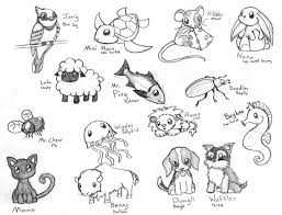 cute baby animal drawing. Brilliant Animal Cute Baby Animal Drawing Pictures  Cute Chibi Animals 3 By  CrimsonAngelofShadow On DeviantART In Baby Animal Drawing