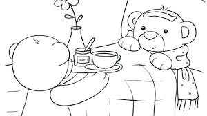 Free Get Well Coloring Pages Get Well Coloring Pages Soon With Cards