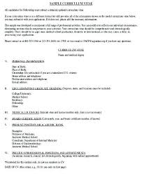 Medical Resume Template Word Why It Is Not The Best 45