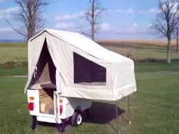 Small Picture Kompact Kamp Mini Mate motorcycle camper trailer set up YouTube