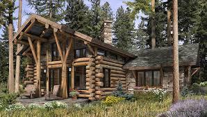 Telluride Log Cabin Plan: Rustic Luxury Log Cabins & Plans