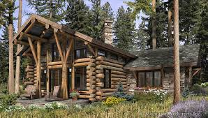 telluride log cabin plan rustic luxury log cabins plans