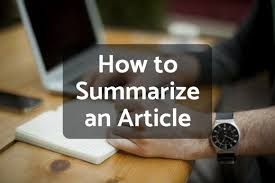 Write Your Own Newspaper Article Template How To Write A Summary Of An Article Owlcation