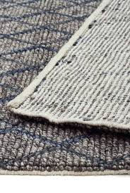 light blue flat weave rug wool rugs 5