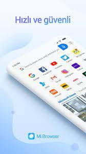 Android için Mi Tarayıcı - APK'yı İndir