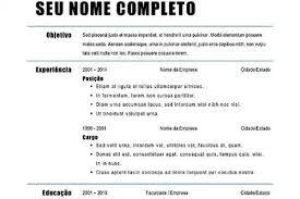 Exemplos De Curriculos