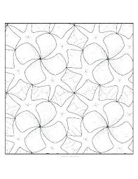 Symmetry Coloring Pages Tessellation Coloring Sheets Tessellation