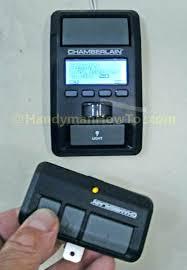 chamberlain garage door opener battery garage door opener battery replacement chamberlain garage door opener battery change
