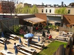 then travel to a beer garden like greenpoint s t b d photo t b d