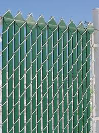 privacy slats for chain link fencing