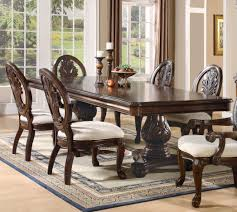 Two Pedestal Dining Table Coaster 101037 Tabitha Traditional Cherry Double Pedestal Dining Table