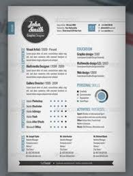 Cool Resume Templates Free Magnificent 48 Amazing Examples of Cool and Creative ResumesCV super cool